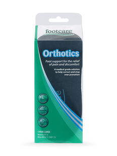 Orthotics Insoles Large, 1 pair