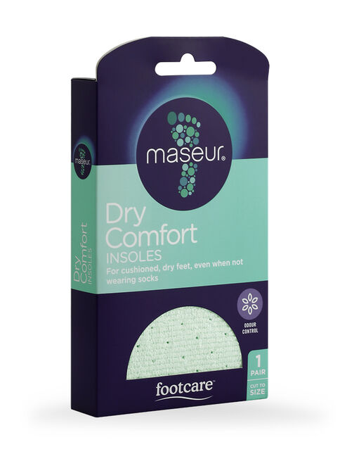 Dry Comfort Insoles, 1 pair