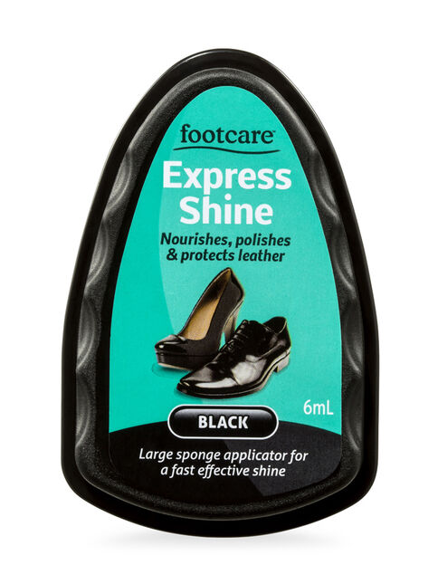 Shoe Polish Express Black 6mL