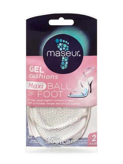 Ball of Foot Maxi Gel Cushions, 2 pairs