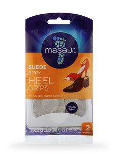 Suede Heel Grips, 2 pairs
