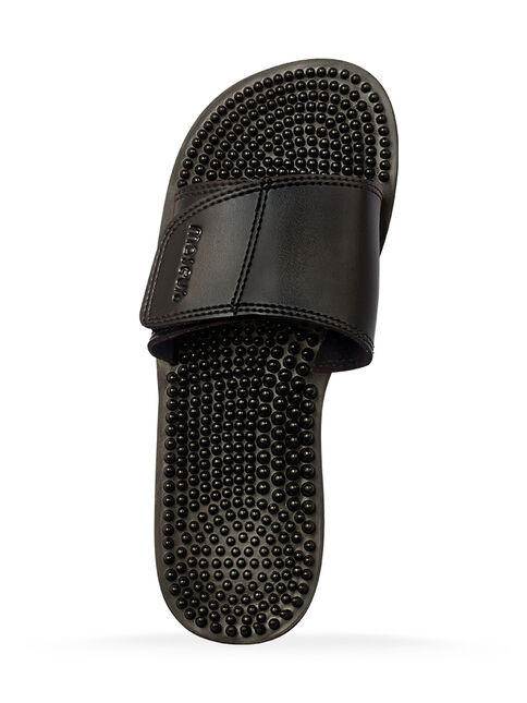 d0db89c54e8d4e Maseur Invigorating Massage Sandal Black Size 10