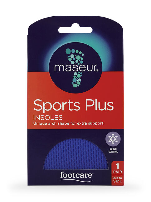 Sports Plus Insoles, 2 pairs