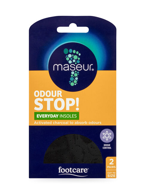 Odour Stop! Everyday Insoles, 2 pairs